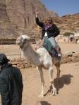 conquering the camel Wadi Rum - Jordan
