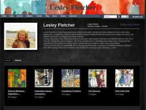 my artist site