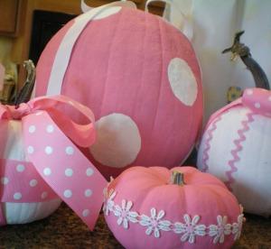 copied from http://apronsenorita.blogspot.ca/2010/09/pink-saturday-pink-pumpkins.html
